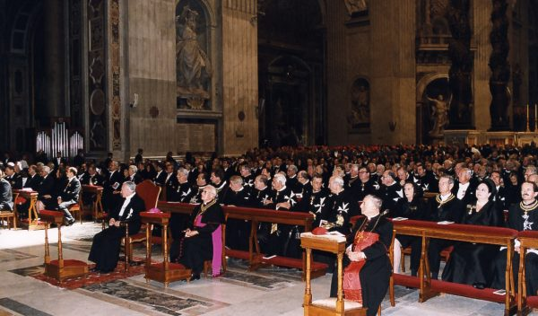 The Holy Father's greeting to the Knights and Dames of the Sovereign Military Order of Malta