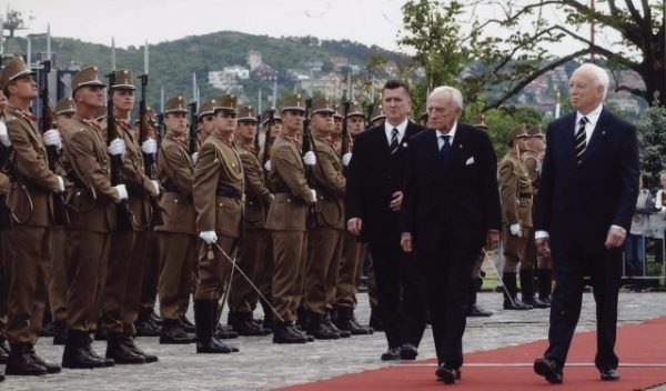 Grand Master makes an official visit to Hungary