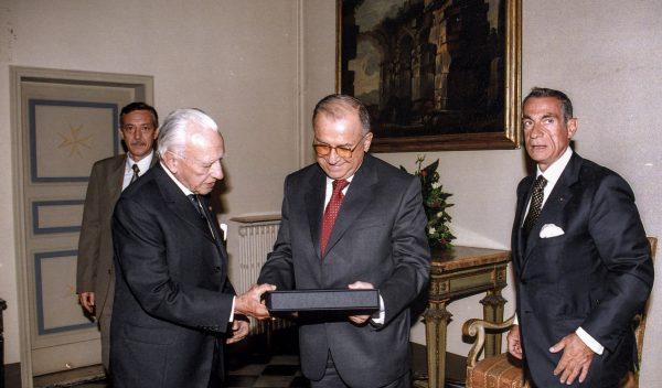 President of Romania Iliescu