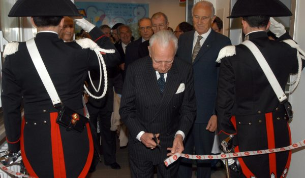 The department of neurosurgery inaugurated in the gaslini hospital