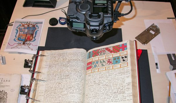 The digitisation of the magistral palace archives is launched