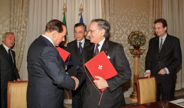 Italy and the Order of Malta sign an agreement for scientific research