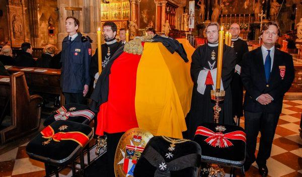 funeral Grand Prior Austria