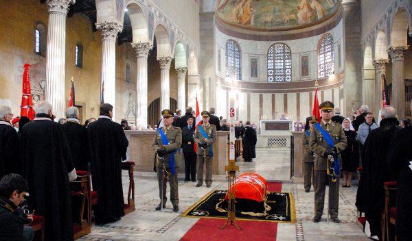 Funeral Grand Master Order Malta