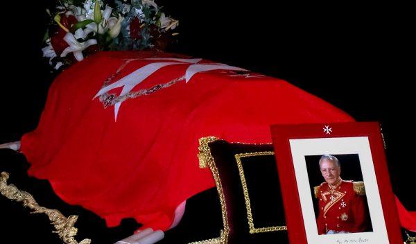 solemn memorial mass Grand Master Order Malta