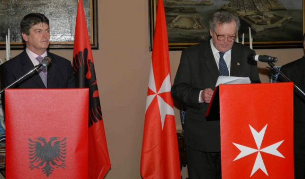 State visit President Albanian Republic Sovereign Order