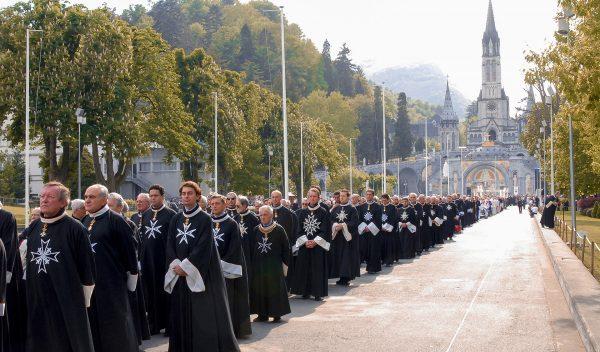 Order Malta 50th pilgrimage Lourdes
