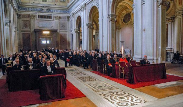 Moving Memories Anniversary Mass late Grand Master Fra Andrew Bertie