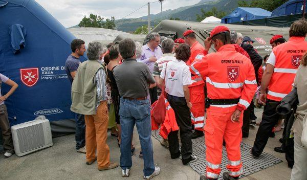 Abruzzo Grand Master returns quake victims