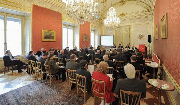Emergency relief work dominates key discussions Vienna