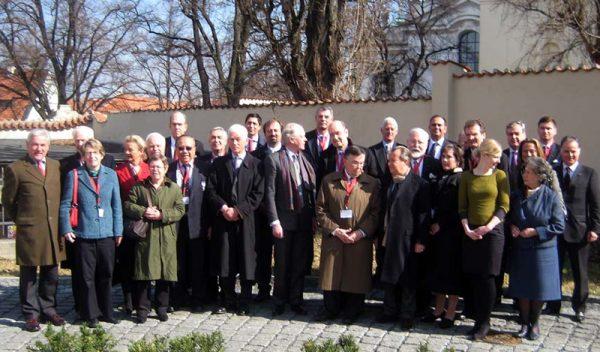 19 Europäische konferenz Hospitaliers Prag Praga xixª Conferencia Hospitalarios Europeos Prague dix-neuvième Conférence Européenne Hospitaliers 19th European Hospitallers Conference Prague Praga XIX Conferenza Europea Ospedalieri