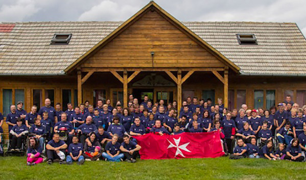 Eleventh Order of Malta's Summer Camp in the mountains of Covasna County in Transylvania
