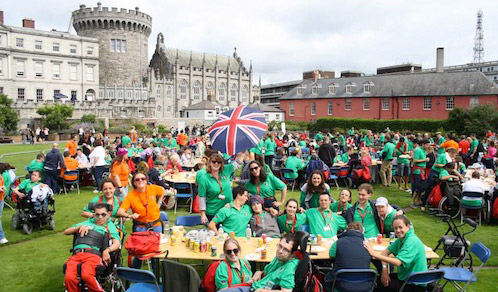 Over 600 disabled youth and volunteers attend the 30th International Order of Malta Summer Camp in Ireland