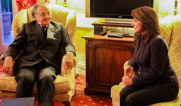 President Costa Rica Grand Chancellor Sovereign Order of Malta meeting