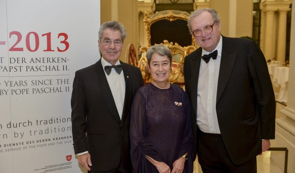 Fundraising dinner in Vienna for the disabled