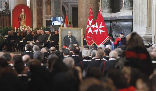 mass and initiation of the cause of beatification of Fra' Andrew Bertie