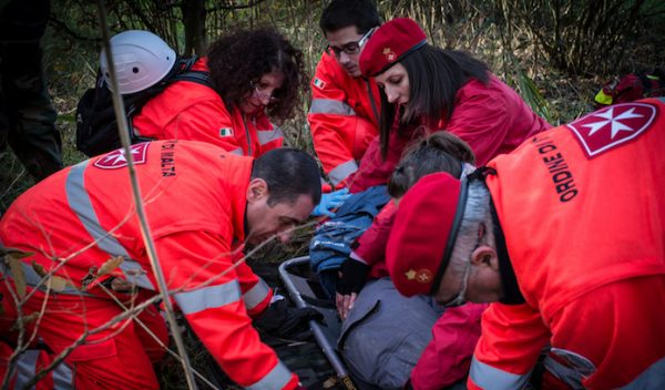 Training Day: the Italian Relief Corps of the Order of Malta has 3,500 volunteers