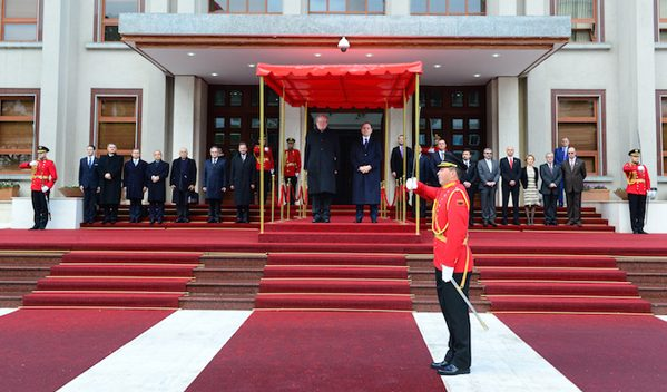 The Grand Master's meetings in Albania focussed on strengthening cooperation