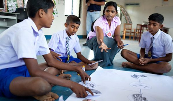 The Order of Malta's worldwide relief agency Malteser International runs hygiene campaigns in schools across the Batticaloa district in Sri Lanka