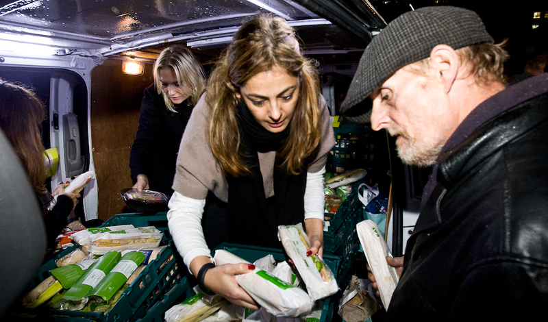 The British Association of the Order of Malta is responding to homelessness and poverty in London with soup kitchens