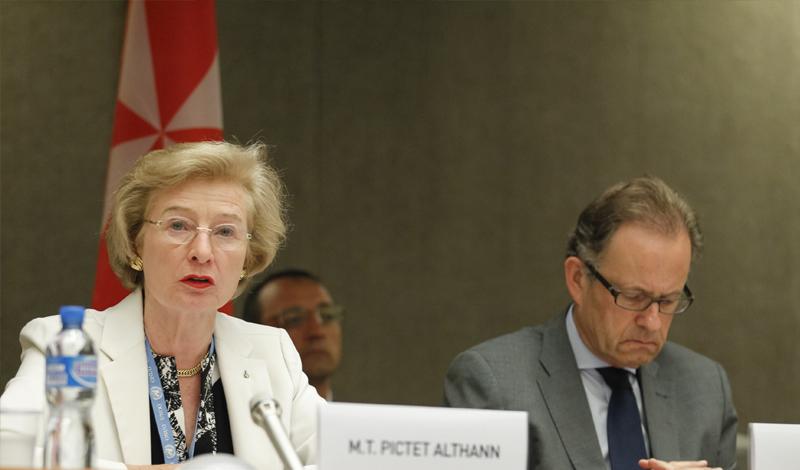 Ambassador Marie-Thérèse Pictet-Althann