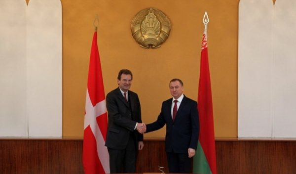 Albrecht Boeselager, Grand Chancellor of the Sovereign Order of Malta, visits Belarus Prime Minister