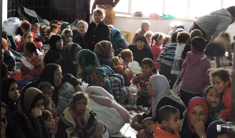 Malteser International ayuda a la poblacion de desplazados internos cerca de Mosul en Irak.