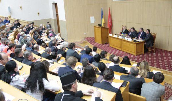 Albrecht Boeselager Grand Chancellor of the Order of malta visits Ukrain