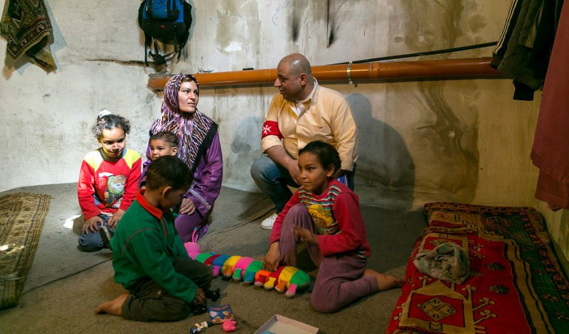 Order of Malta provides humanitarian assistance to Syrian refugees in Lebanon