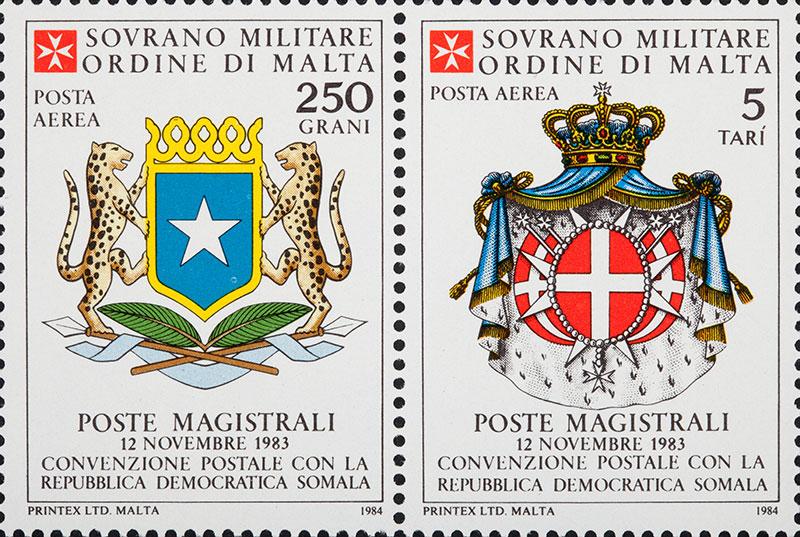 Emissione 76 – Convenzione postale con la Somalia - Order of
