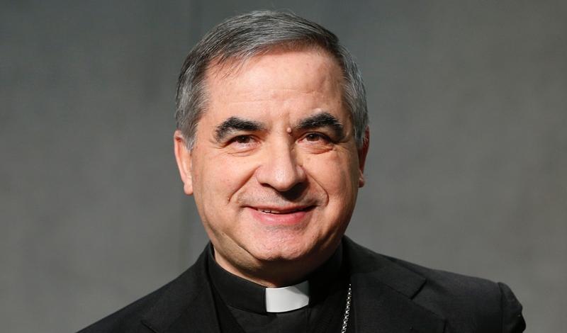 Sonderbeauftragten beim Souveränen Malteserorden Special Delegate Giovanni Angelo Becciu Pope Delegato speciale presso il Sovrano Ordine di Malta