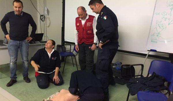 misión de formación sanitaria para personal libio medical training mission missione di formazione sanitaria mission de formation sanitaire Ausbildungsmission