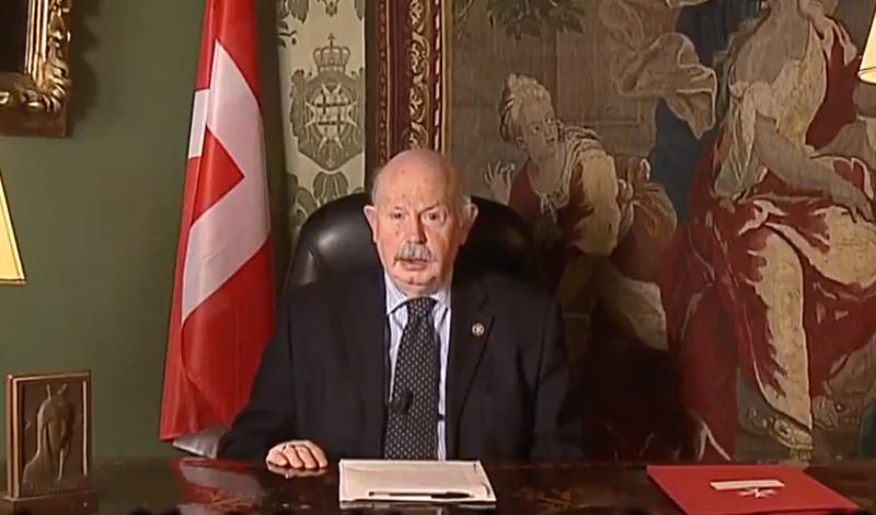 Message du Lieutenant de Grand Maître Videonachricht des Statthalters des Großmeisters Mensaje de Lugarteniente del Gran Maestre de la Orden de Malta