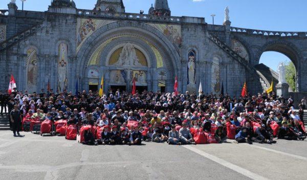 Orden de Malta a Lourdes Malteserordens nach Lourdes 59ème pèlerinage international de l'Ordre de Malte à Lourdes 59th International Pilgrimage to Lourdes Pellegrinaggio Ordine di Malta a Lourdes