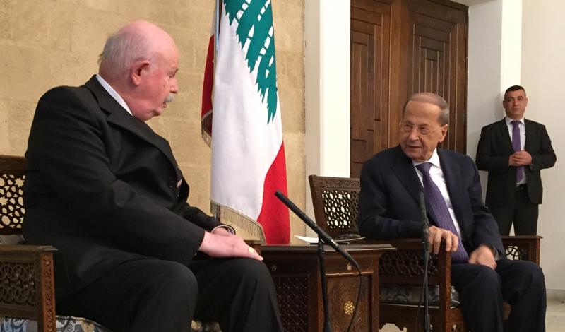 Libanesischer Präsident