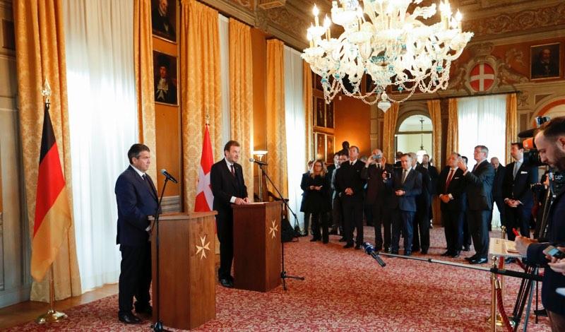 établissement de relations diplomatiques bilatérales entre la République fédérale d'Allemagne et l'Ordre souverain de Malte