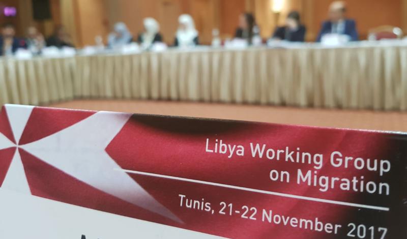 crisis humanitaria y social en Libia condizione dei migranti Krise in Libyen crisis in Libya migrants en Libye