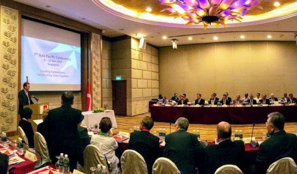 7ª Conferencia Asia Pacífico settima Conferenza Asia Pacifico Seventh Asia Pacific Conference septième Conférence Asie-Pacifique 7.Asien-Pazifik-Konferenz