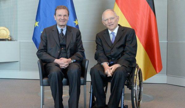 Presidente del Parlamento Alemán Bundestagspräsident Président du Parlement allemand Grand Chancellor Udienza Gran Cancelliere Presidente Parlamento Tedesco