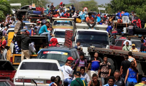 réfugiés vénézuéliens venezolanische Flüchtlinge refugiados venezolanos profughi venezuelani Venezuelans refugees