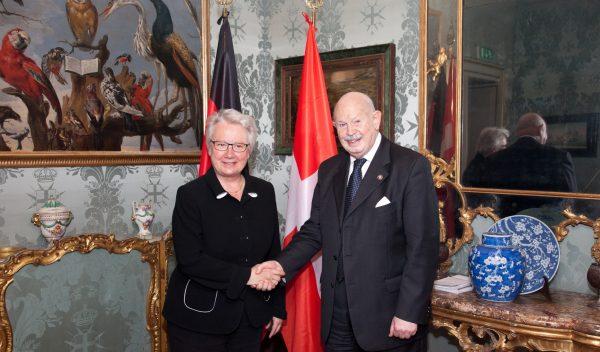 deutscher Botschafter German Ambassador embajadora de Alemania ambassadeur d'Allemagne primo ambasciatore di Germania