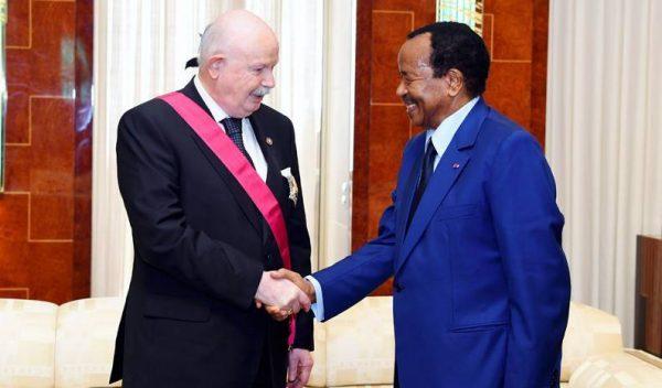 visita de Estado Camerún Grand Master State Visit visite d'État Cameroun Staatsbesuch Kamerun