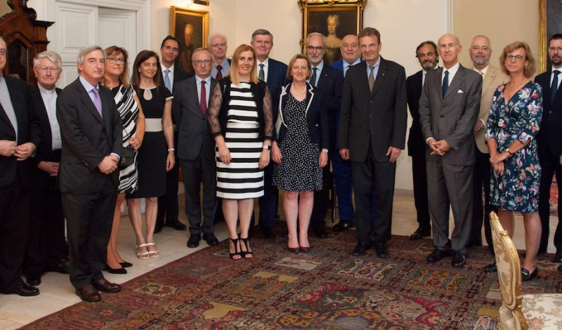 ambasciatori europei European ambassadors ambassadeurs européens europäischen Botschaftern embajadores europeos