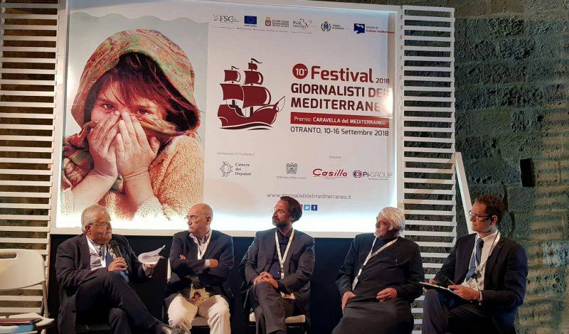 Festival dei Giornalisti del Mediterraneo Festival of Mediterranean Journalists Festival von Journalisten aus dem Mittelmeerraum