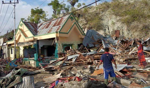 Indonesia tsunami Indonésie Tsunami Indonesien