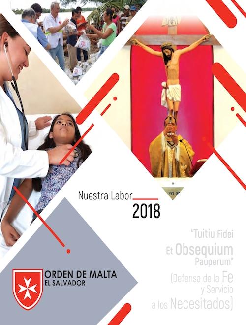 Orden de Malta El Salvador - Memoria de Labores 2018