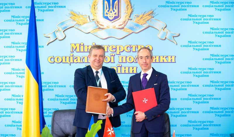 Cooperation Agreement between Ukraine and Order of Malta