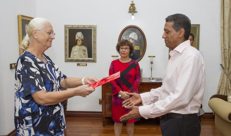 letters of credence Republic of Seychelles