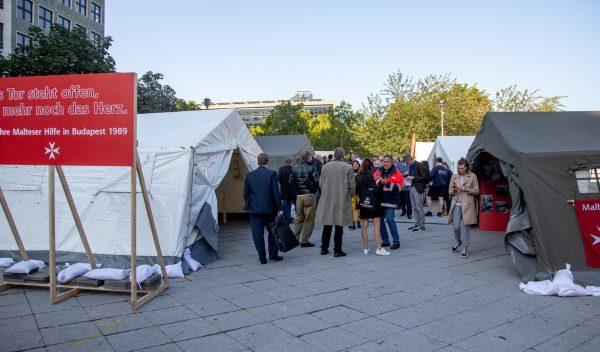 campi profughi dell'Ordine a Budapest Order of Malta refugee camps in Budapest