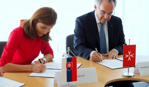 Memorandum of understanding signed with Slovak Ministry